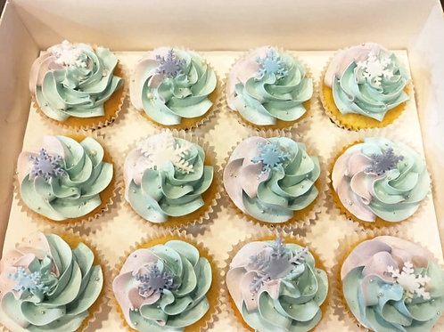 Frozen Cupcakes (12pcs)