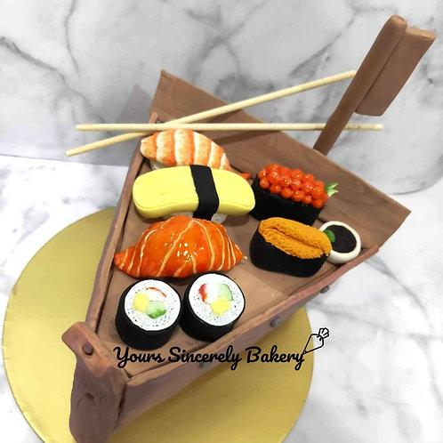 Sushi Boat Cake