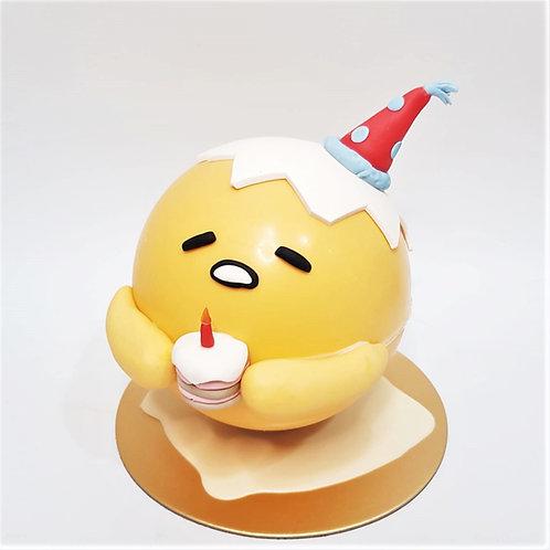 Gudetama Egg Birthday Party Knock Knock Pinata Surprise Cake