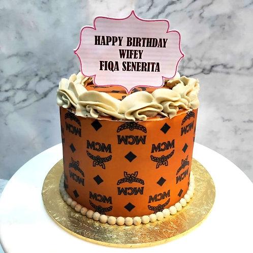 MCM Themed Cake