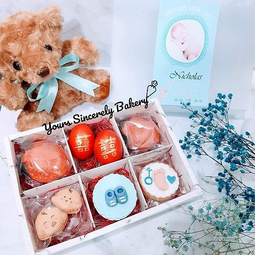 Baby Boy Full Month Gift box