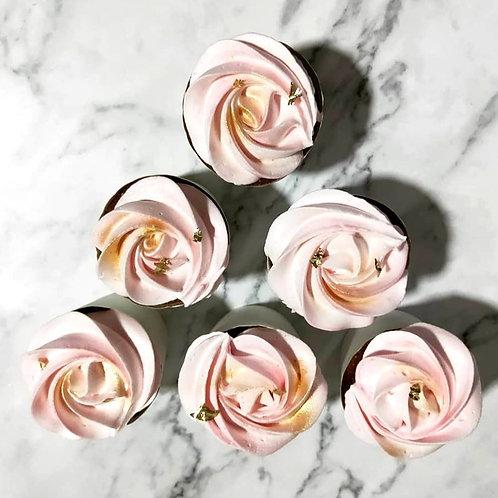 Rose Gold cupcakes (12pcs)