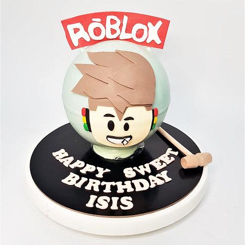 Roblox Game Themed Knock Knock Pinata Surprise Cake 1