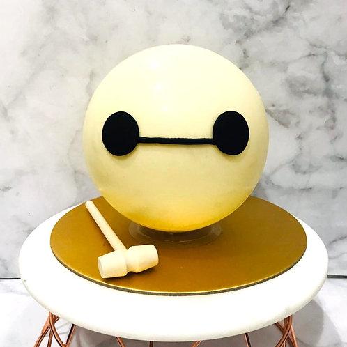 Baymax Knock Knock Pinata Surprise Cake