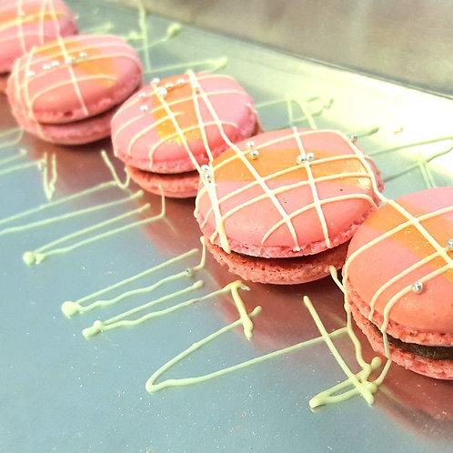 Rose Gold Macarons