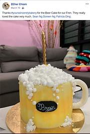 Beer Cream Cake