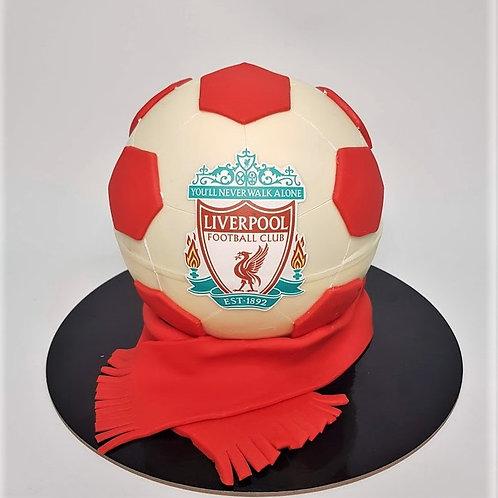 Liverpool Football Knock Knock Pinata Surprise Cake