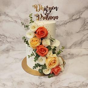 FLORAL / WEDDING CAKE