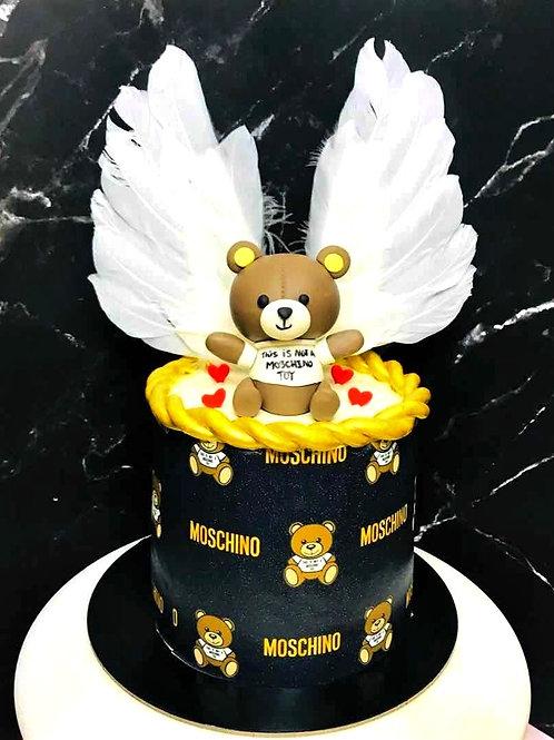 Moschino Bear Themed Cake