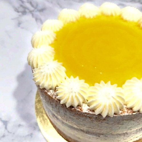 Earl Grey Passion Fruit Cake