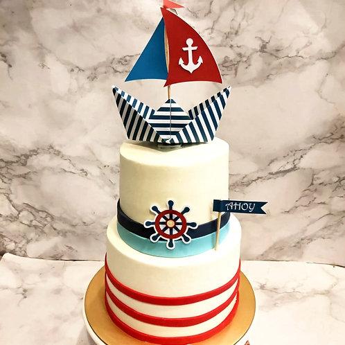 Anchor Ship Cake