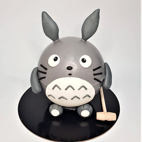 Totoro Knock Knock Pinata Cake