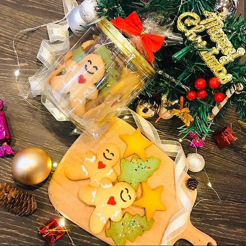 Gingerbread Man Christmas Cookies (12pcs)