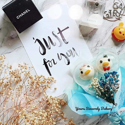 Donald & Daisy Duck Cake Pop Mini Bouquet
