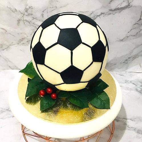 Soccer  Ball Knock Knock Pinata Surprise Cake