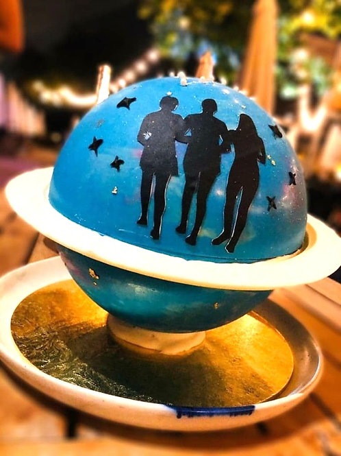 Galaxy Universe Knock Knock Pinata Surprise Cake