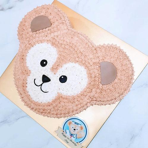 Duffy Bear Cream Cake 2