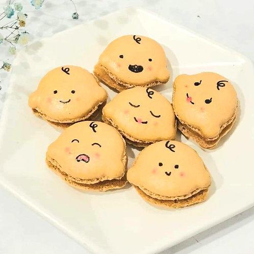 Cute Baby Face Macarons