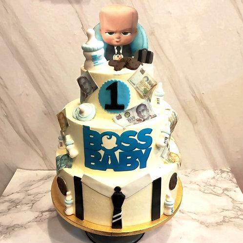 Baby Boss 3 Tier Cake