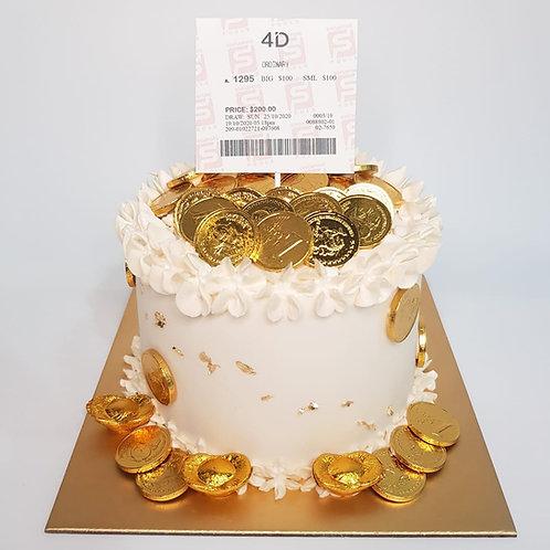 4D Simple Money Pulling Cake
