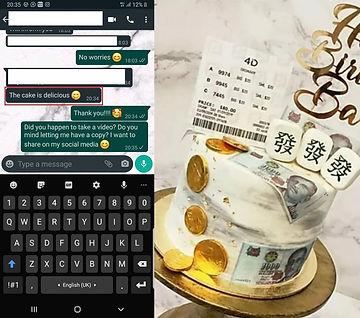 4D Toto Mahjong Money Pulling Cake