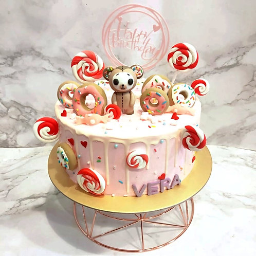 Tokidoki Biscotti Lollipops Donuts Cake