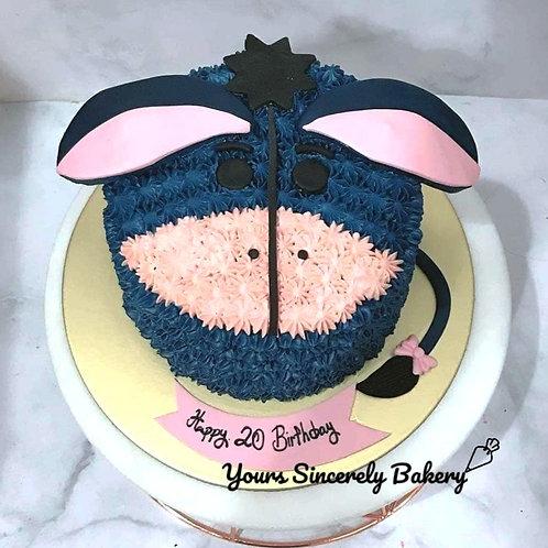 Eeyore Cream Cake