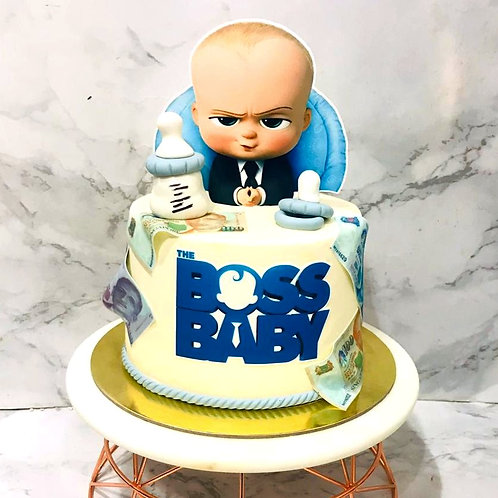 Baby Boss Birthday Cake
