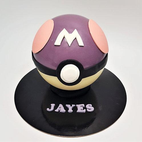 Master Ball Pokemon Knock Knock Pinata Cake