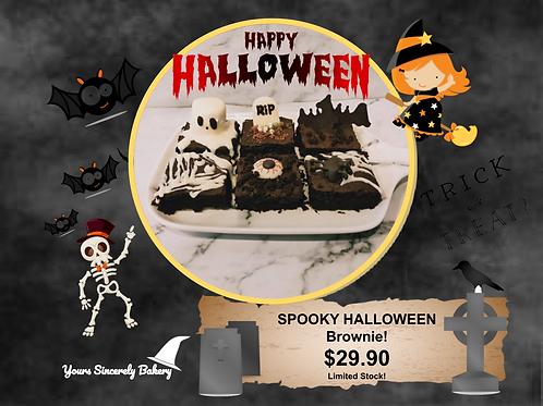 Spooky Halloween Brownies (6pcs)