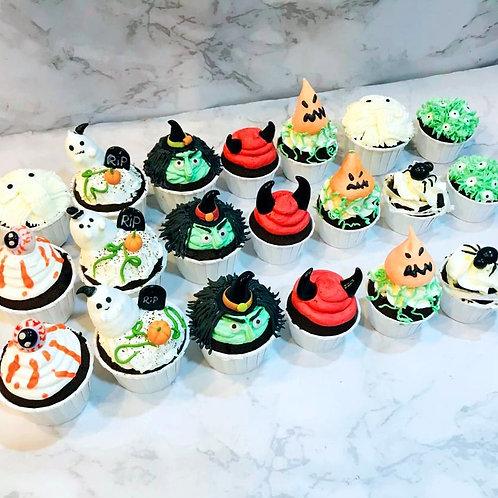 Halloween Cupcakes (12pcs)