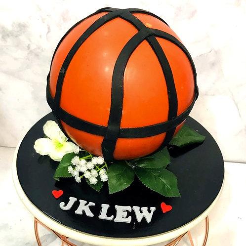 Basketball Knock Knock Pinata Surprise Cake