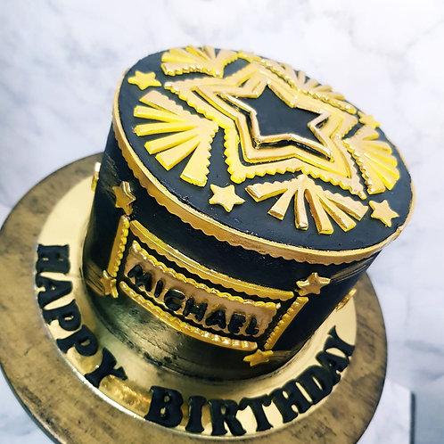 Cody Sanderson Themed Cake