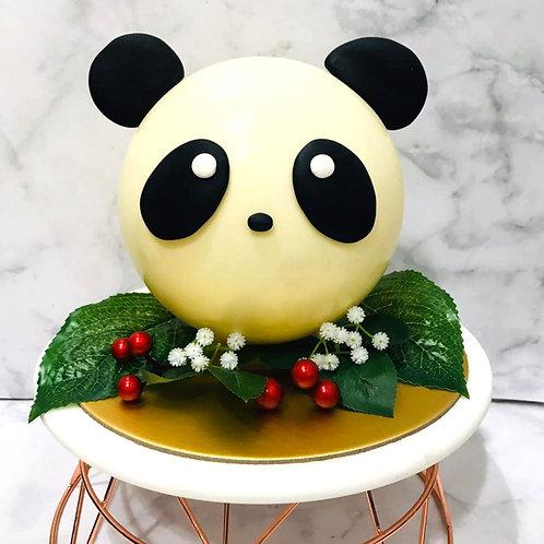 Cute Panda Knock Knock Pinata Surprise Cake