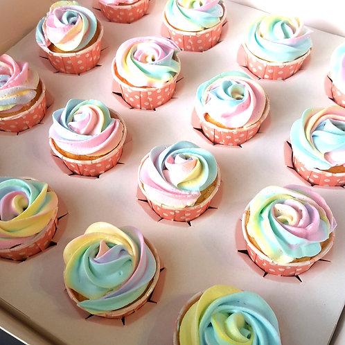 Pastel Cupcakes (12pcs)
