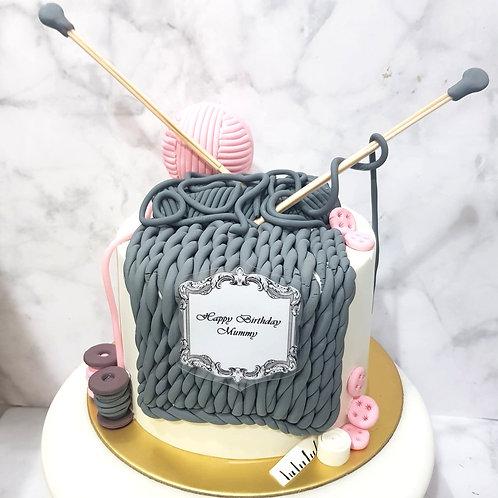Crochet Knitting Yarn Money Pulling Cake