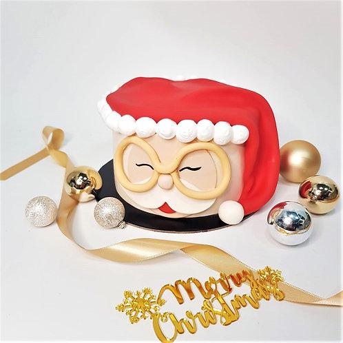 Santa Claus Christmas Cake
