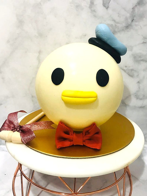 Donald Duck Knock Knock Pinata Surprise Cake