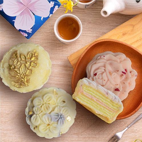 Hokkaido Snow Skin Mille-Crepe Mooncakes (6 pcs)