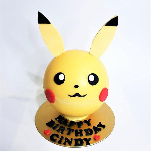 Pikachu Knock Knock Pinata Cake