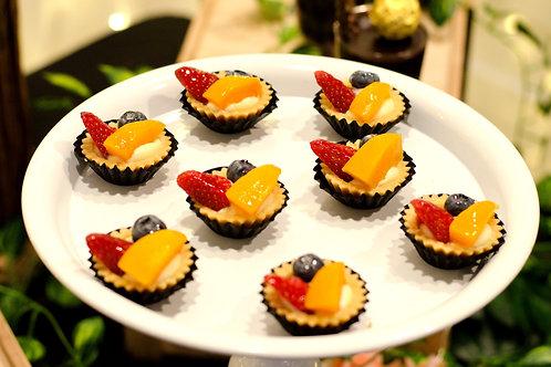 Fresh Fruit Tarts (12pcs)