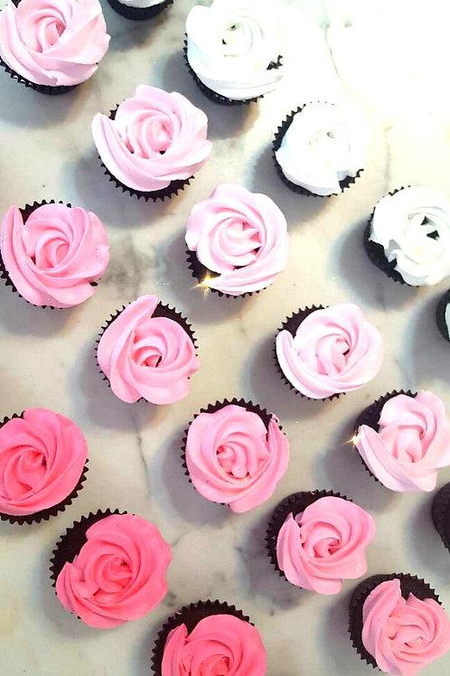 Pink Ombre Cupcakes (12pcs)