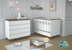 Quarto de bebê Sorrento