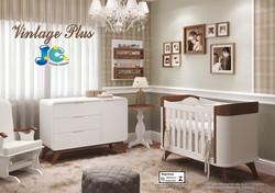 Quarto de bebê Vintage Plus