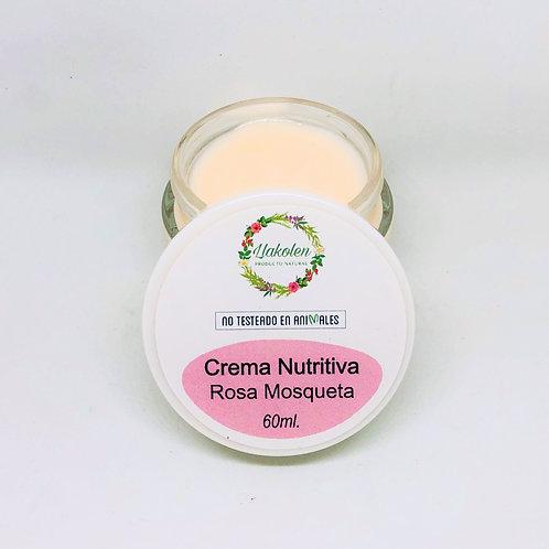 Crema Facial Rosa Mosqueta Nutritiva