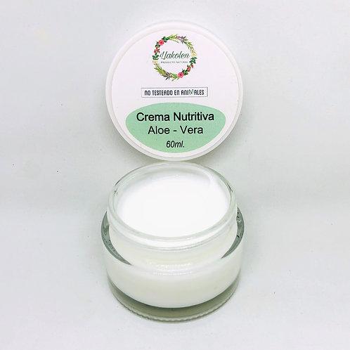 Crema Facial Aloe Vera Nutritiva