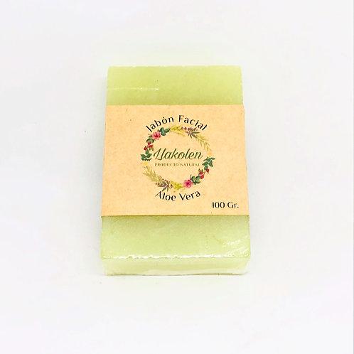 Jabón Facial Aloe - vera