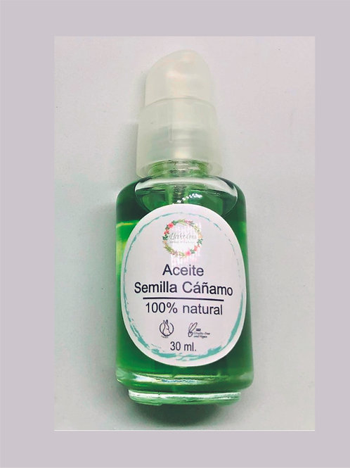 Aceite Semilla de Cáñamo
