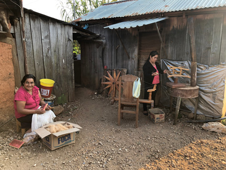 Visiting a village in Oaxaca