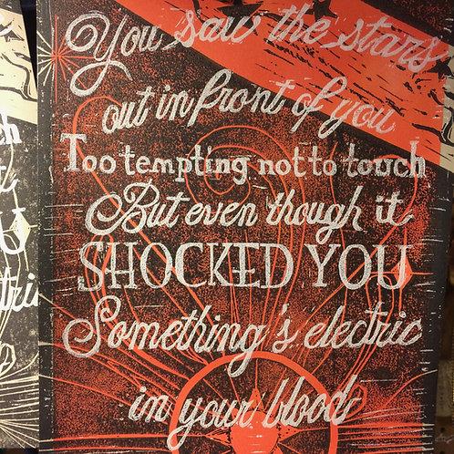 Florence + the Machine Block Print